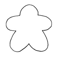 Gingerbread Man Printable Pattern