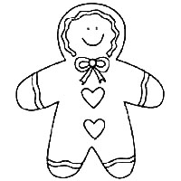 Pattern for Gingerbread Man