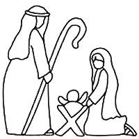 Nativity Scene Patterns Free