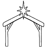 Nativity Stable Pattern