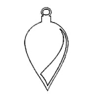 christmas ornaments patterns and templates use for crafts