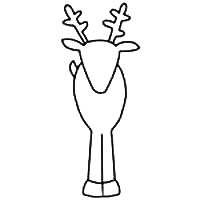 Reindeer Patterns   For Clip Art, Christmas Crafts