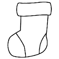 Christmas Stocking Patterns - For Crafts, Sewing, Templates