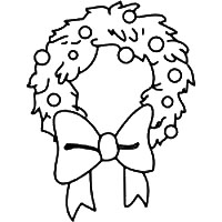 Christmas Wreath Patterns For Crafts, Graphics, Printables