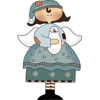 Winter Angel Ornament Pattern