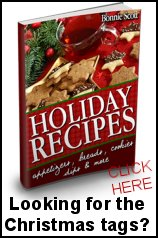 Holiday Recipes by Bonnie Scott