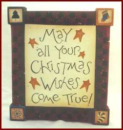 Free craft ideas - Christmas Wishes