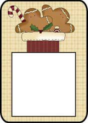 Gingerbread Post It Notes