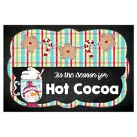 Shorter version of the first Hot Cocoa sign