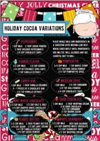 Hot Cocoa InfoGraphic