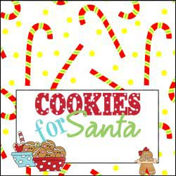 Cookies with Candy Canes
