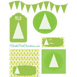 Lime Green Printables