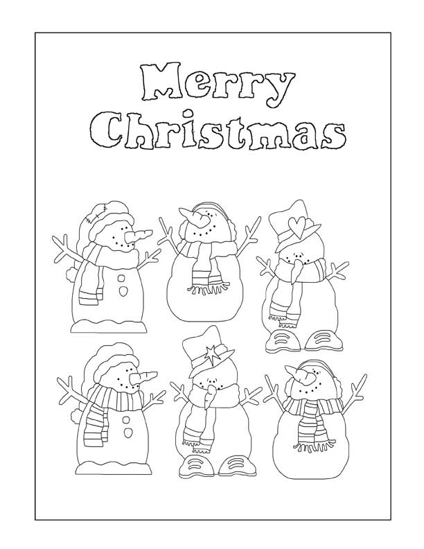 26 Christmas Coloring Pages  Printable  NorthPoleChristmascom