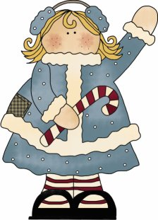 Winter Girl Pattern