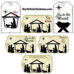 Religious Hang Tags