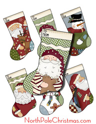 Stocking Hang Tags