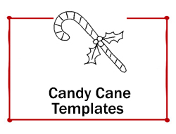 Candy-Cane Template