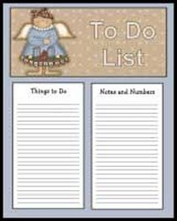 Angel To Do List