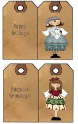 Prim Christmas Printables
