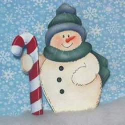 Chunky Snowman Crafts
