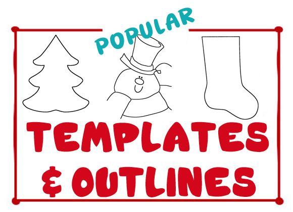 Christmas Templates & Outlines