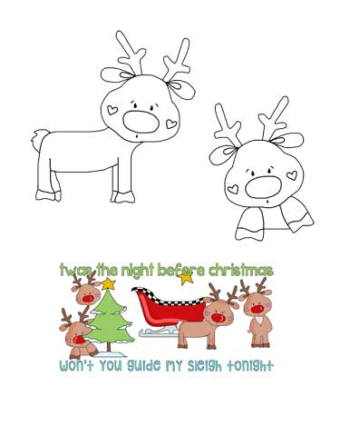 Rudolph the Red Nosed Reindeer Patterns