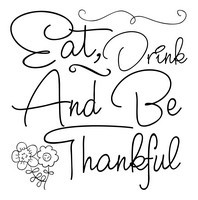 Autumn Quotes - Eat, drink and be thankful