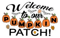 Fall Sayings - Welcome to our pumpkin patch