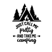 Funny Camping Quote