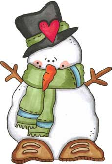 Freezin' Snowman Template - NorthPoleChristmas - Printable