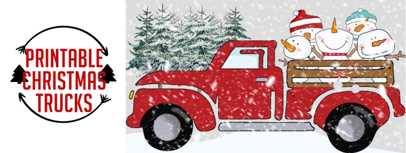 Christmas Truck Images